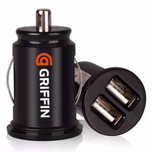 Cargador Auto Doble Usb Griffin Iphone S7 S6 Edge S5 J5 J7