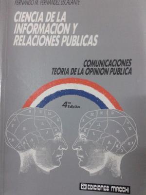Ciencia De La Informacion Y Relaciones Publicas F.escalante