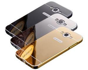 Funda Espejada Metalica Samsung A5 J5 J + Templado