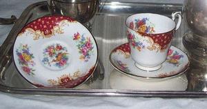 Juego de café en porcelana Paragon