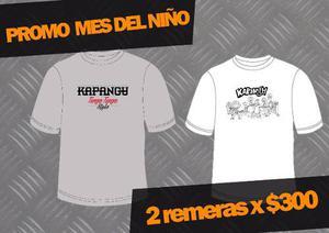 Promo Mes Del Niño Kapanga - Mok - Merchandising Oficial
