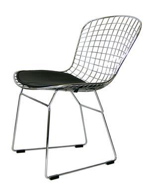 Vendo dos sillas bertoia en color turquesa posot class for Sillas cromadas