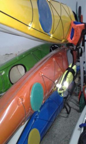 Tapas de Kayaks De Colores