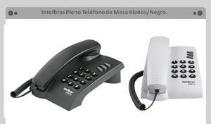 Telefono De Mesa O Pared Intelbras Pleno Blanco Y/o Negro