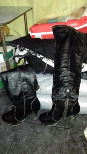 Vendo botas bucaneras con 2 usos