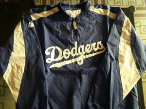 Buzo Rompeviento De Baseball Angeles Dodgers Mlb No Nfl Nhl