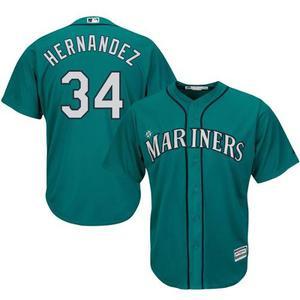 Camiseta Seattle Mariners - # 34 Hernandez - Talle M