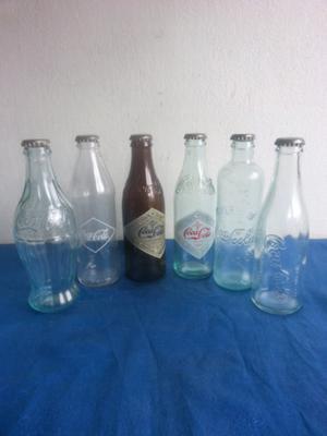 Colección botellas coca cola