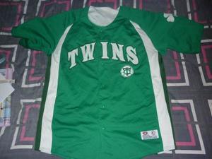E Camiseta Minesota Twins Mlb Marca True Fan Art