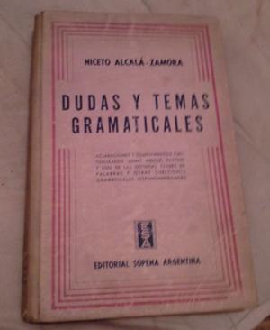 LIBRO DUDAS Y TEMAS GRAMATICALES - EDICION