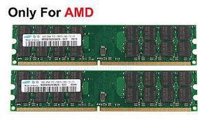Memorias Ddr2 8gb (2x4gb) 800mhz Pc Marca Samsung