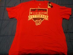 Remera Mlb Majestic Washingston Nationals 4xl