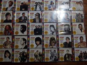 Vendo CDS de MASTERS DEL POP Y EL ROCK 100 cada uno