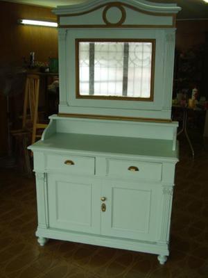 antiguo mueble renacimiento italiano