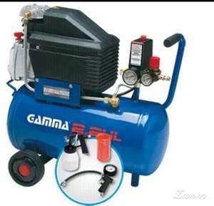 Compresor Gamma 24 litro, alta recuperación, con kit, nuevo