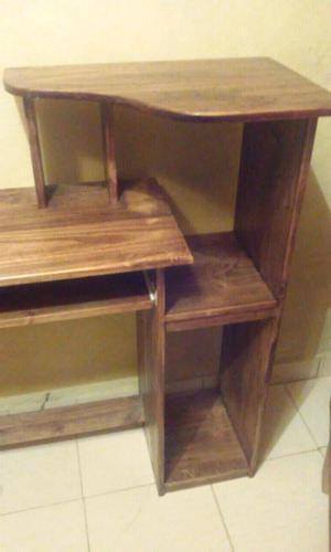 Despensero cocina estilo campo madera pino posot class - Escritorio de pino ...