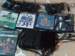 Play Station 2. Sony. Y 10 Juegos