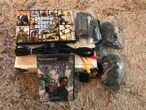 Playstation 2 Sony Edición Limitada Chipeada Nueva Gtia