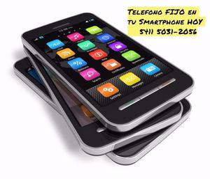 TELEFONO fijo sin 15 en tu smartphone U$S 7 por mes