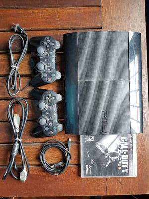 Vendo playstation 3 slim usada en excelente estado!