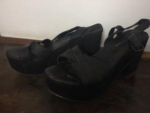 Zapatos Plataforma Lucerna Talle 40