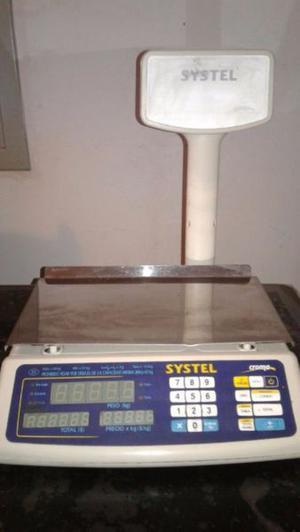 Balanza Electronica Systel Croma 31kg X 5 Gs Con Bateria