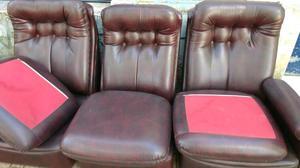 Hermoso sillón 3 cuerpos como nuevo