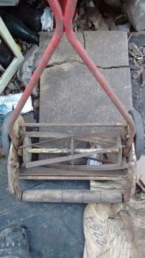 cortadora de pasto antigua etc