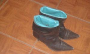 vendo botas con muy poco uso