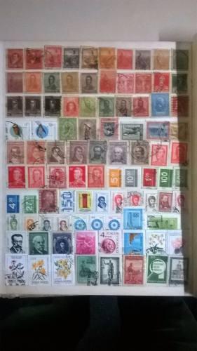 139 Estampillas Distintas De Argentina