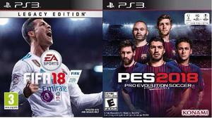Playstation 3 Ps3 Con 130 Juegos Fifa 17 Pes 18 Garantia
