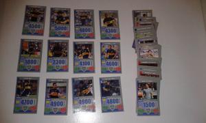 Vendo colección completa de 191 tarjetones de fútbol