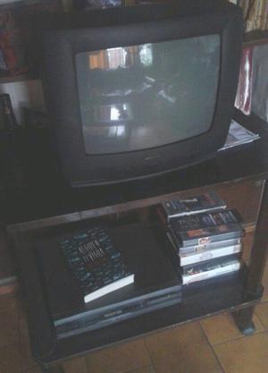 Vendo tv audinac de 14 pulgadas y video grabadora Panasonic