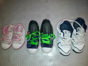 Vendo zapatillas de marca para niños