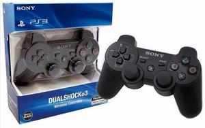 Dualshock Joystick Ps3 Sellado + Cable De Carga De Regalo