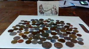 Lote De Mas De 100 Monedas De Todo El Mundo,sale A Subasta