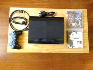 Playstation 3 Super Slim Con 60 Juegos Originales Y Cuenta