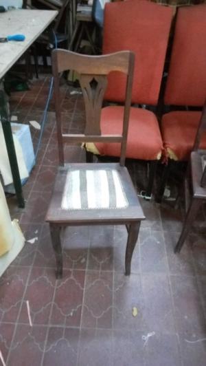5 sillas Chippendale