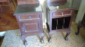Antiguo mueble para dormitorio chippendale