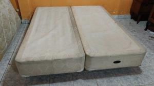 Base Sommier Bedtime De 2 Plazas Y Media.1.60m Madera Maciza