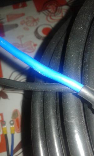 Cable tipo taller reforzado con malla x 100 metros