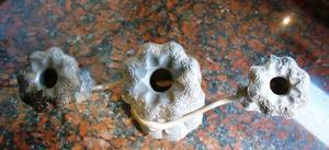 Candelabro antiguo Bonce,cobre 3 luces