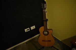 Guitarra fonseca 41kec con accesorios oferta!