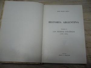 HISTORIA ARGENTINA de José María Rosa-------------Tomos
