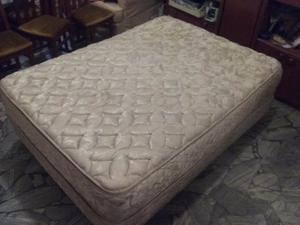 Juego Sommier SUAVEGOM - 2 plazas -1,40 x 1,90cm colchón
