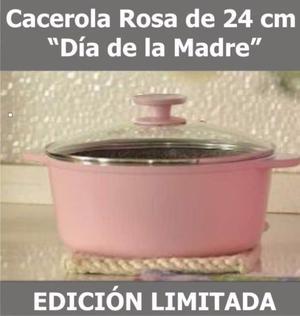 Olla Essen de 24 cm color Rosa edición limitada