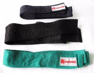 Vendo lote de 3 cinturones artes marciales nuevos.