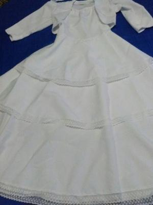 Vendo vestido de comunión $600 Negociable