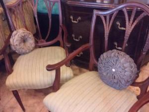 hermosos sillones de estilo INGLES