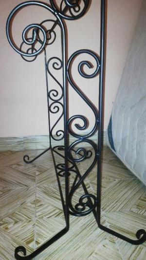 toallero rustico en hierro